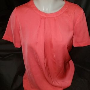 J.Crew Factory deep V-back Blouse size small